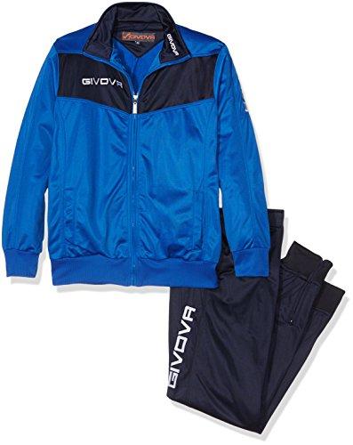Givova Visa Chandal, Hombre, Multicolor (Azzurro Cielo/BLU), XL