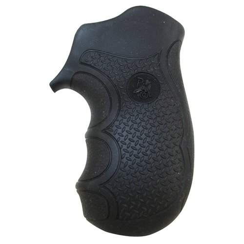 Pachmayr 02482 Diamond Pro Ruger Grips, LCR,Black