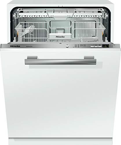 Miele G 4380 SCVi Active ECO vollintegrierter Geschirrspüler mit Besteckschublade / A++ / 266 kWh / 14 Maßgedecke / 46 dB / Comfort Korbgestaltung / 5 Spülprogramme