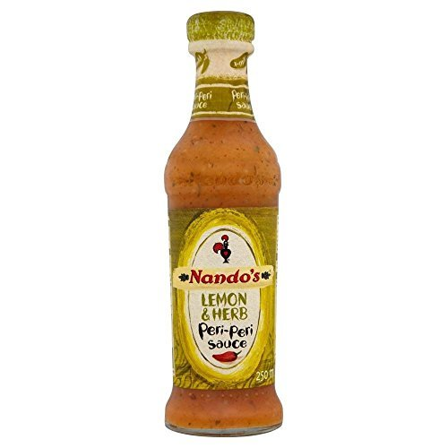 Nando's Lemon & Herb Peri Peri Sauce (250ml) by Nando's