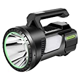 Linterna LED Alta Potencia,Guiseapue Recargable Linternas Super Brillante Reflector LED...