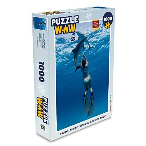 MuchoWow Puzzle 1000 Teile - Schnorchler...