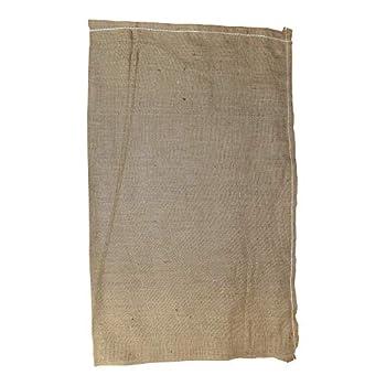 SGT KNOTS Burlap Bag - Large Linen Bag for Adults Kids Sack Obstacle Course Games  23  x 40  Natural