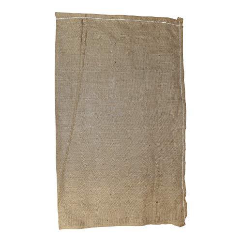 "SGT KNOTS Burlap Bag - Large Linen Bag for Adults, Kids Sack Obstacle Course Games (23"" x 40"", Natural)"