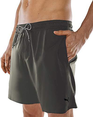 PUMA Herren Badehose Badeshorts Summer Deluxe Swim Shorts - Thyme - Gr. XXL
