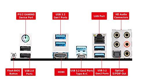 MSI X570-A PRO Motherboard (AMD AM4, DDR4, PCIe 4.0, SATA 6Gb/s, M.2, USB 3.2 Gen 2, HDMI, ATX)