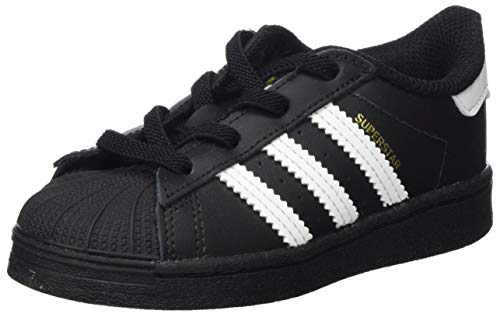 adidas Unisex-Kinder Superstar EL I Sneaker, Core Schwarz FTWR Weiß Core Schwarz, 23 EU