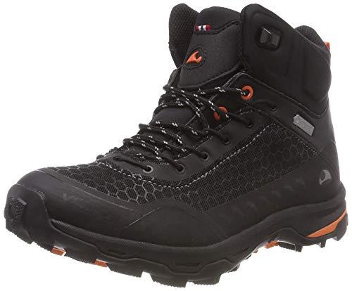 viking Unisex-Erwachsene RASK GTX W Trekking- & Wanderstiefel, Schwarz (Black/Orange 231), 38 EU