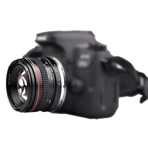 Lente teleobjetivo estándar y medio de 50 mm f/1.4 USM y...