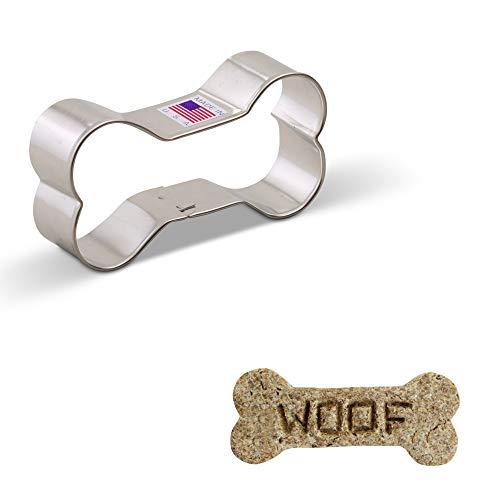 Ann Clark Ausstechform - Hundeknochen - 8.89 cm - US verzinnter Stahl