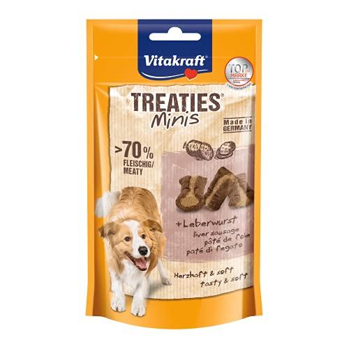 Vitakraft - Treaties Minis de paté, Snacks para Perros Pequeños - Pack de 8 x 48g ✅
