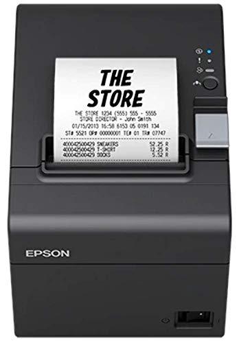 Epson C31CH51012 TMT20III (012) - Impresora de recibos POS, Negro, 14 x 19.9 x 14.6 cm