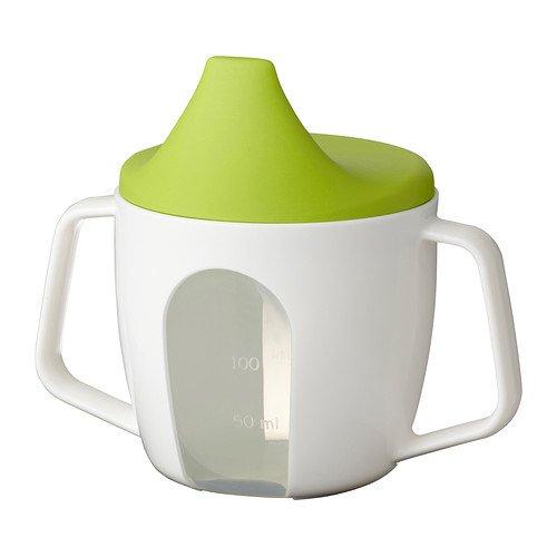 Ikea BÖRJA 202.138.83 - Bicchiere per bambini con coperchio