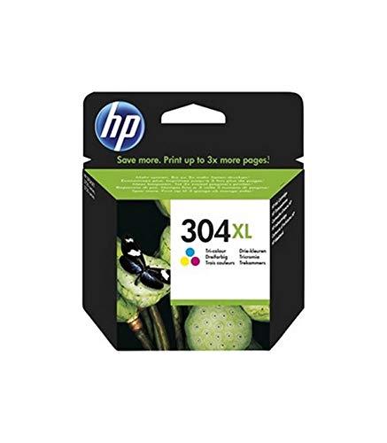 HP Ink Cartridge NO 304XL Tri-COLOSUPL