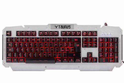 iTek Taurus T21 USB QWERTY Italiano Acciaio inossidabile