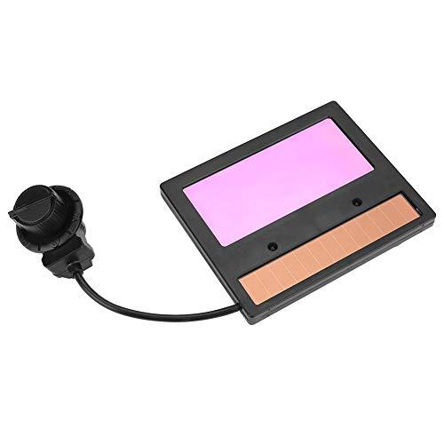 TX600C Svetthjälm lins bil mörkläggande lins för svetsning och slipning med LCD-display, 110 × 90 × 9 mm