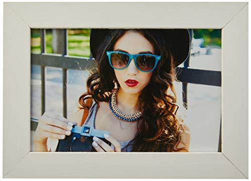 Porta Retrato Para Foto no Tamanho 10X15cm Kapos Branco
