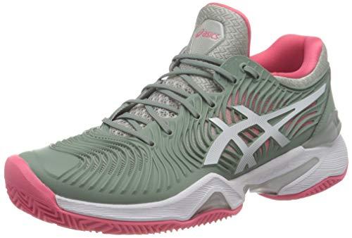 Asics Court FF 2 Clay, Tennis Shoe Mujer, Slate Grey/White, 38 EU