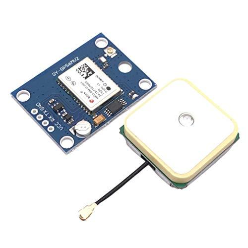Guangcailun NEO-6M GPS-Modul EEPROM Kompatibel für MWC/AeroQuad Antenne Kompatibel für Arduino Flight Control Aircraft