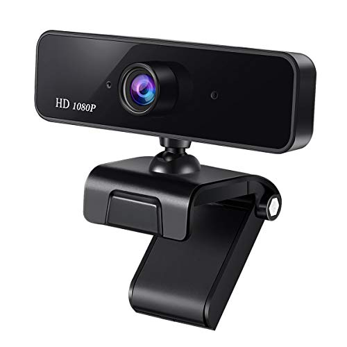 Guo duo 1080P Autofokus Webcam für Stream Video Streaming, Videoanruf, Konferenz, Online-Unterricht, Spiel,HD Webkamera Video mit Mikrofon USB Webcam für PC, Laptops und Desktop