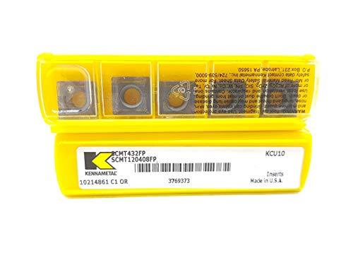 Kennametal CNMM 120408RP 432 Lot de 5 inserts en carbure KC9125