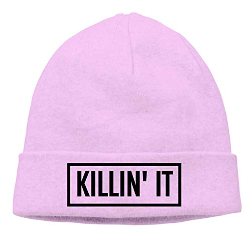 Preisvergleich Produktbild Voxpkrs Adult Skull Cap Beanie Killin It Knitted Hat Headwear Winter Warm Hip-hop Hat Cool 32757