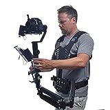 Glide Gear DNA 6000 ビデオカメラ ジンバル 10-16ポンド 調節可能なテンションベスト&アーム デュアルスプリング 両手利きアーム スタビライザーシステム Ronin S Zhiyun Crane 2用