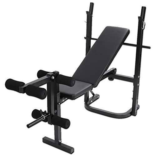 Adjustable Olympic Weight Bench Exercise and Weightlifting Bench, Adjustable Incline Seat