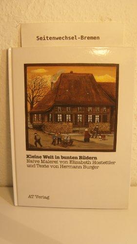 Kleine Welt in bunten Bildern: Naive Malerei von Elisabeth Hostettler