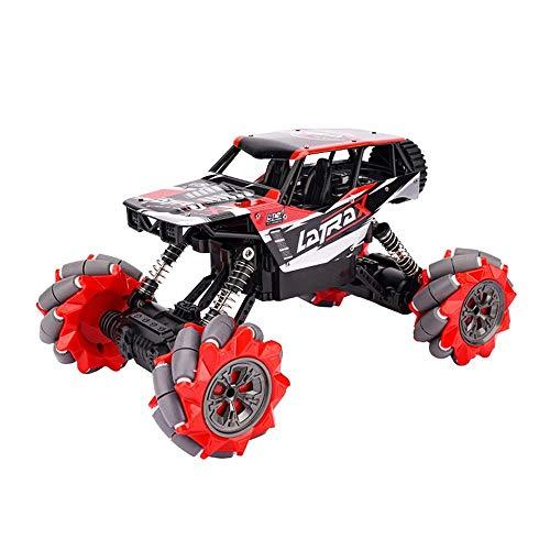 Este es un regalo que los niños adoran mucho. Fuerte poder delantero y trasero suspensión a través de la suspensión transversal control remoto a través del coche de plástico de la deriva de la deriva