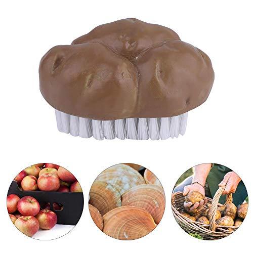 Groenteborstel, zuinig snel eenvoudig reinigingsgereedschap keuken-multifunctionele aardappel-groente-fruit-reinigingshulp, harsborstel veggie-wasmachine