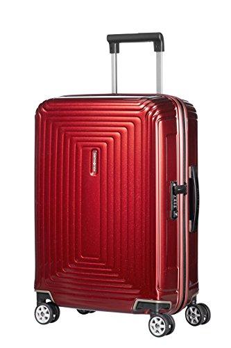 Samsonite Neopulse - Spinner S (Ancho: 23 cm) Equipaje de Mano, 55 cm, 44 L, Rojo (Metallic Red)