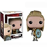 Apalldoo New Pop Vikings 178# Lagertha 177# Ragnar Lothbrok Figure Decoration Collection Figure Toy for Men Birthday 178 Withbox