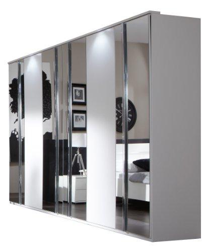 Wimex Kleiderschrank/ Drehtürenschrank Davos, (B/H/T) 270 x 210 x 58 cm, Weiß