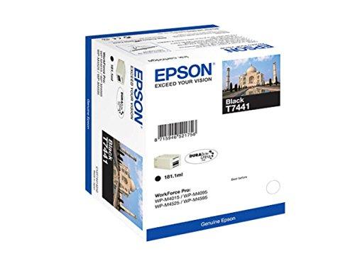 Epson WorkForce Pro WP-M 4525 DNF (T7441 / C 13 T 74414010) - original - Ink cartridge black - 10.000 Pages - 181,1ml