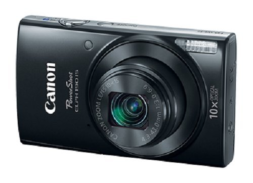 Canon Cameras US 1084C001 Canon PowerShot ELPH 190 Digital Camera w/ 10x Optical Zoom and Image...