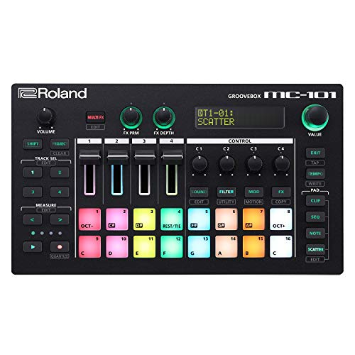 Read About Roland MC-101 Groovebox Compact Music Production Workstation
