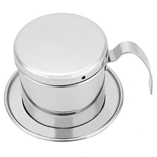 KFHTM Cafetera De Acero Inoxidable De 300 Ml Hervidor De Agua Filtro...