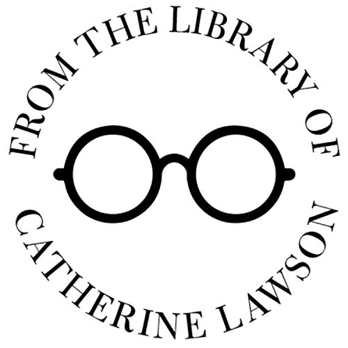 Library Book Name Stamp Personalized Custom This Belongs to Self-Inking or Library Teacher Customized Name from The Ex-Libris of Floral Fern