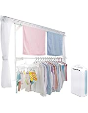 アイリスオーヤマ 洗濯物干し 窓枠物干し 高さ110~190cm 高さ190~260cm ハンガー ピンチハンガー 除湿器