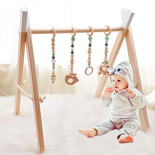 4Pcs Baby Gym Toys Teether...