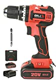 iBELL BM18-60 20V Brushless Impact Driver Drill (Cordless) with 1 Battery, Charger, Case