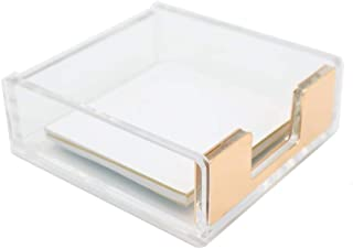 gold post it holder