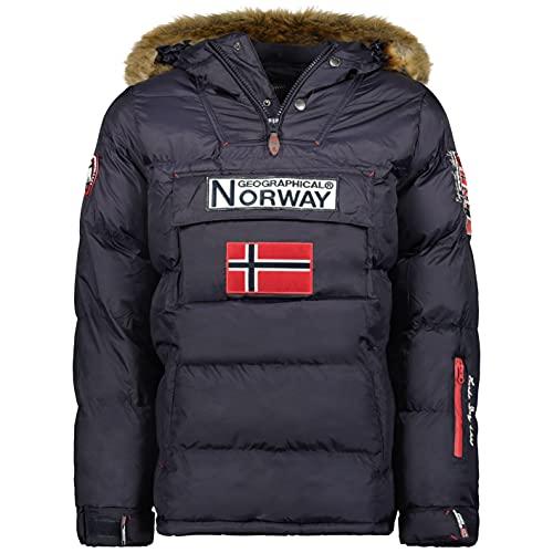 Geographical Norway - Boker, giacca da uomo (Marino, L)