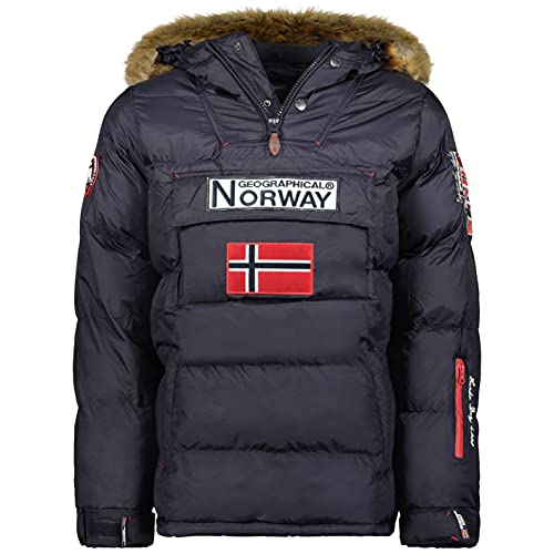 Geographical Norway - Chaqueta Hombre Boker AZUL MARINO XXL