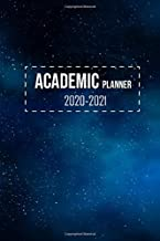 2020-2021 Academic Planner: 2 Year Pocket Calendar Schedule 24 Months and Weekly Planner Organizer with Holidays (Galaxy Blue)