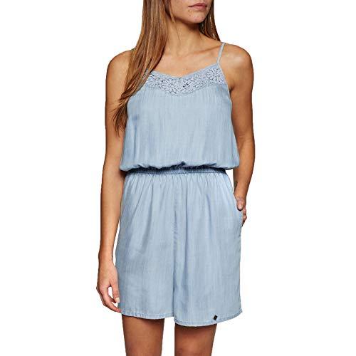 Superdry Damen Tess Jumpsuit blau L