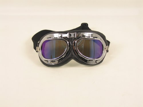Gafas motorista estilo aviador RAF
