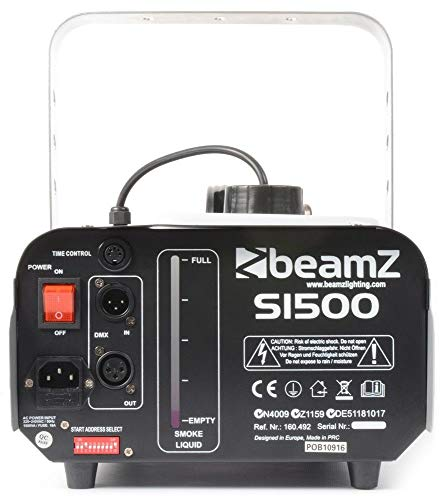 Beamz S1500 DMX Nebelmaschine Erfahrungen & Preisvergleich