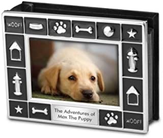 Things Remembered Personalized Dog 4x6 Album with Engraving Included